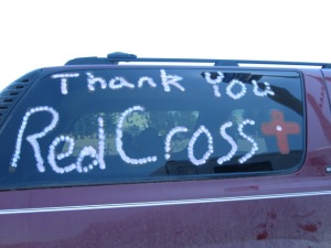 Minot residents are thankful for the help Red Cross volunteers have offered