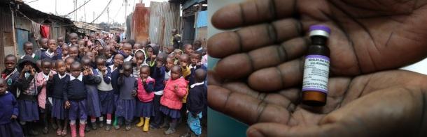 Kenya Measles Campaign May 2016