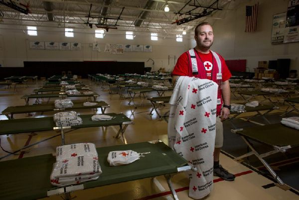 David M., Red Cross relief worker, shelter team, New Hampshire, and shelter manager of the Red Cross shelter in Islamorada, Fla.