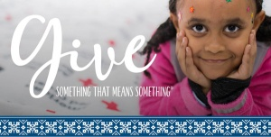 Give Something that Means Something this holiday season.
